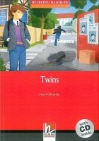 HELBLING READERS FICTION LEVEL 3 RED LINE - TWINS + AUDIO CD PACK