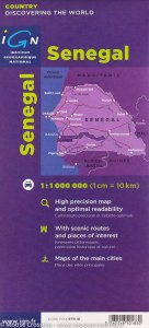 IGN 85018: Senegal 1:1 000 000