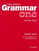 GRAMMAR ONE New Edition ANSWER BOOK AND AUDIO CD PACK