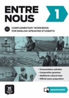 Entre nous 1 - complementary workbook for English speaking students + CD