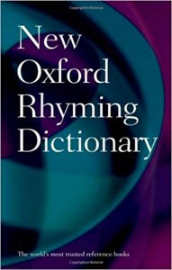 NEW OXFORD RHYMING DICTIONARY Second Edition