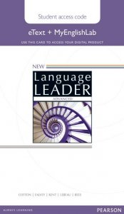 New Language Leader Advanced eText Coursebook with MyEnglishLab Pack