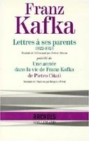 LETTRES A SES PARENTS, 1922 - 1924