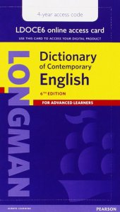 Longman Dictionary of Contemporary English 6 Single User Access Code 4-year Pin