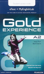 Gold Experience A2 Stud.'s eText with EnglishLab Access card