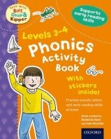 STAGES 3-4 READ WITH BIF, CHIP AND KIPPER PHONICS ACTIVITY BOOK (Oxford reading Tree)