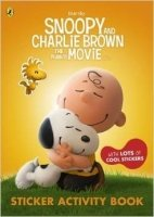 The Peanuts Movie Sticker Activity Book