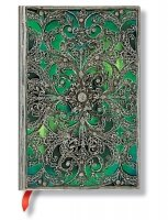 Paperblanks Silver Filigree Esmeralda Mini Unlined