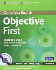 Objective First 3rd Edition Teacher's Book with Teacher's Resources Audio CD/CD-ROM
