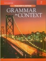 GRAMMAR IN CONTEXT 5th Edition 2 TEACHER´S BOOK