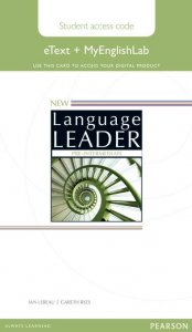 New Language Leader Pre-intermediate Coursebook eText and MyEnglishLab Pack