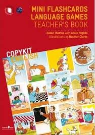 COPYKIT ENGLISH: Mini Flashcards Language Games TEACHER´S BOOK