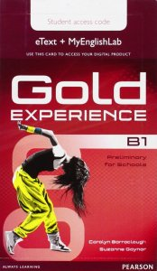 Gold Experience B1 Stud.'s eText with EnglishLab Access card