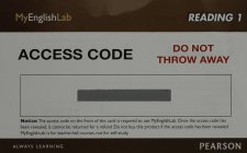 MyEnglishLab Reading 1 (Student Access Code)