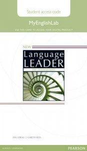 New Language Leader Pre-Intermediate MyEnglishLab Access Card Standalone