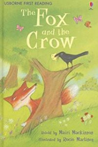 USBORNE FIRST READING 1: FOX AND THE STORK