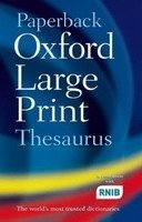 PAPERBACK OXFORD LARGE PRINT THESAURUS