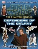 STAR WARS THE PHANTOM MENACE ULTIMATE STICKER BOOK DEFENDERS OF THE GALAXY