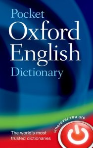 POCKET OXFORD ENGLISH DICTIONARY 11th Edition