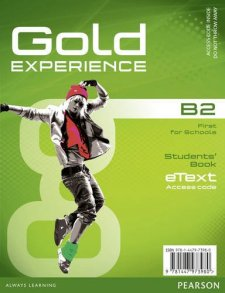 Gold Experience B2 eText Student Access Card