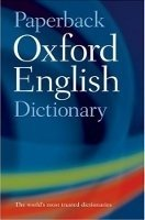 PAPERBACK OXFORD ENGLISH DICTIONARY 6th Edition