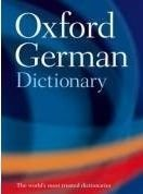 OXFORD GERMAN DICTIONARY 3rd Edition