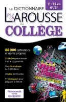 Le dictionnaire Larousse du college