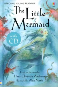 Usborne Young Reading: The Little Mermaid + CD
