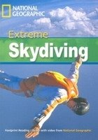FOOTPRINT READERS LIBRARY Level 2200 - EXTREME SKYDIVING + MultiDVD Pack