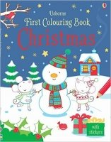 First Colouring Book Christmas