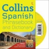 COLLINS SPANISH PHRASEBOOK AND DICTIONARY WITH CD PACK