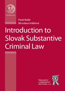 Introduction to the Substantial Criminal Law