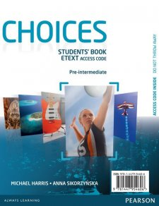 Choices Pre-Intermediate eText Students Book Access Card