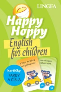 Happy Hoppy kartičky Farby a čísla - English for children