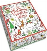 Christmas Cards to Colour