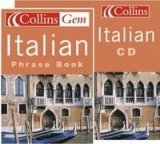 COLLINS GEM ITALIAN PHRASEBOOK with AUDIO CD