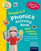 STAGES 2-3 READ WITH BIF, CHIP AND KIPPER PHONICS ACTIVITY BOOK (Oxford reading Tree)