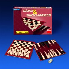 Dáma a Backgammon - Hra