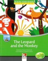 Helbling Young Readers Classics Stage B - The Leopard and the Monkey with CD-ROM Pack