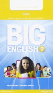 Big English 6 Pupil's eText Access Code