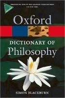 OXFORD DICTIONARY OF PHILOSOPHY 2nd Edition Revised (Oxford Paperback Reference)