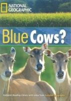FOOTPRINT READERS LIBRARY Level 1600 - BLUE COWS? + MultiDVD Pack
