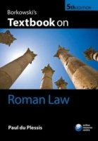 Borkowski's Textbook on Roman Law, 5th rev. ed.
