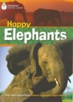 FOOTPRINT READERS LIBRARY Level 800 - HAPPY ELEPHANTS + MultiDVD Pack