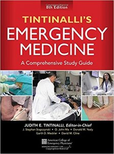 Tintinalli's Emergency Medicine: A Comprehensive Study Guide, 8th rev ed.