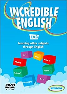 INCREDIBLE ENGLISH 1+2 DVD