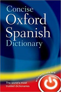CONCISE OXFORD SPANISH DICTIONARY 4th Edition