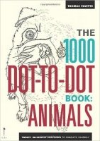 The 1000 Dot-to-Dot Book: Animals (Colouring Book)