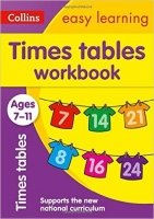 Times Tables Workbook Ages 7-11