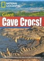FOOTPRINT READERS LIBRARY Level 1900 - GIANT CAVE CROCS! + MultiDVD Pack